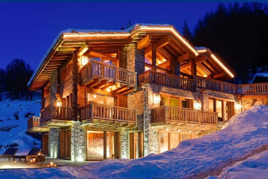 chalets In Chamonix Mont Blanc