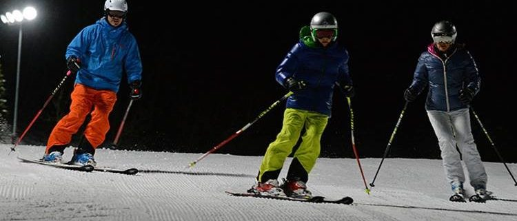 Night Skiing Chamonix