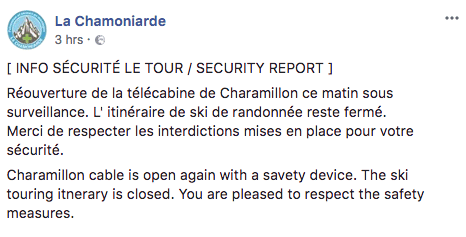 Chamonix Risk Of Avalanche