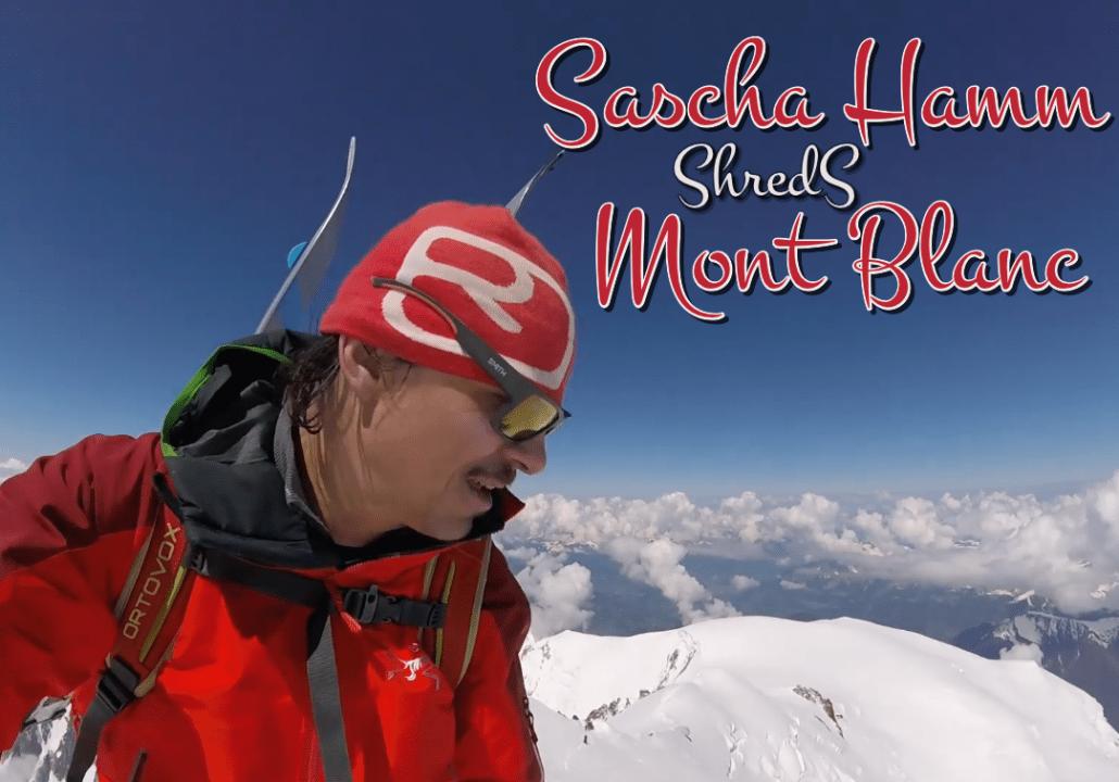 Sascha Hamm Mont Blanc