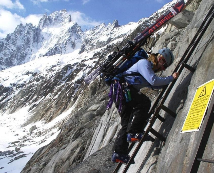 Climbing The Chamonix Ladders