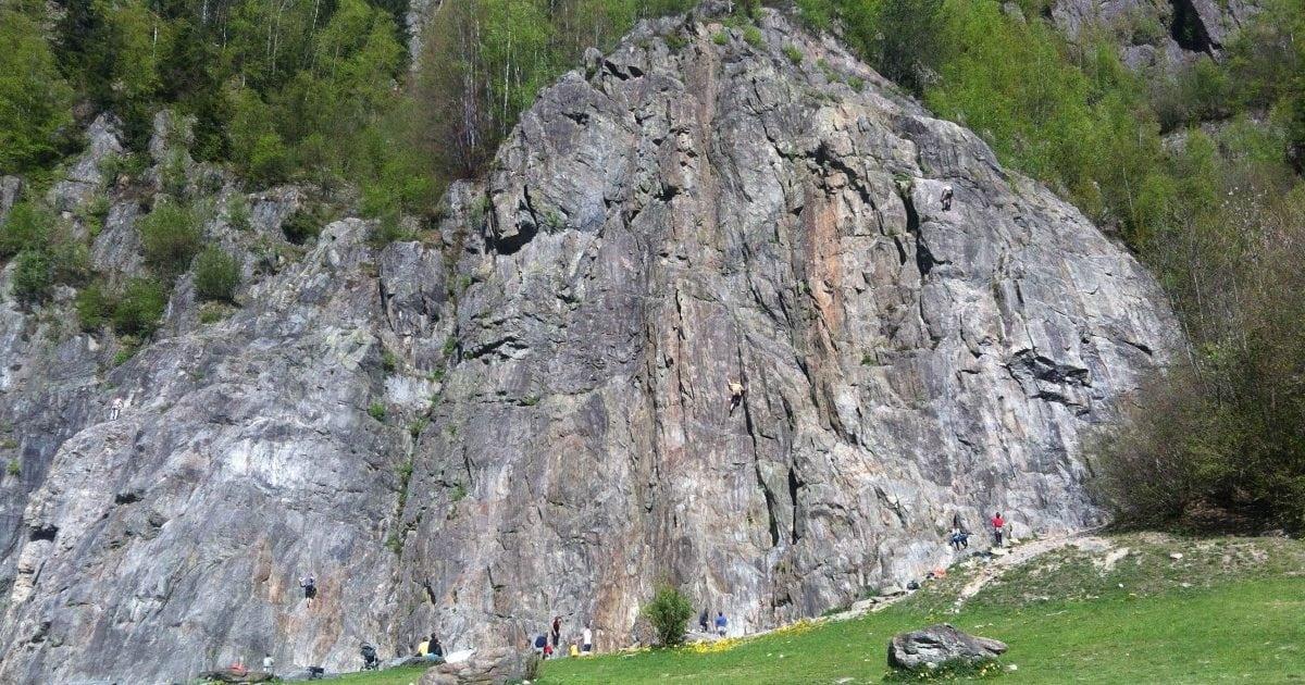 Les Gaillands Climbing Wall Chamonix