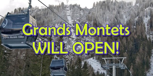 Chamonix Grands Montets Open Winter 2018/2019 Planet Chamonix