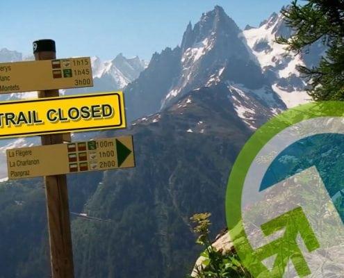 Lac Blanc Trail Closed Planet Chamonix
