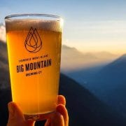 The local (150ms away) IPA Brewery, Big Mountain Brewing Co.