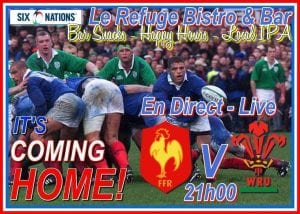 6 Nations Rugby Chamonix Live